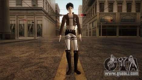 Eren Jaeger for GTA San Andreas second screenshot