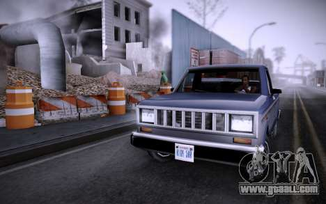 Building on Grove Street v0.1 Beta for GTA San Andreas second screenshot