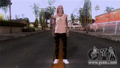 Skin girl for GTA San Andreas second screenshot
