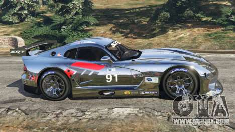 GTA 5 Dodge Viper GTS-R SRT 2013 [Beta] left side view
