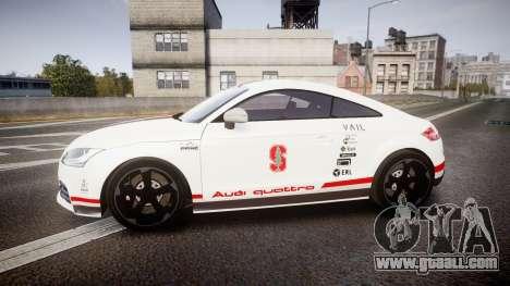 Audi TT RS 2010 Shelley for GTA 4 left view