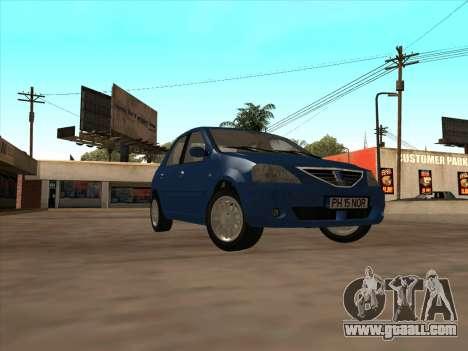 Dacia Logan Prestige for GTA San Andreas