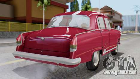 GAZ 21 Volga v3 for GTA San Andreas left view