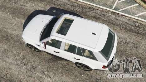 GTA 5 Range Rover Sport 2010 v0.7 [Beta] back view