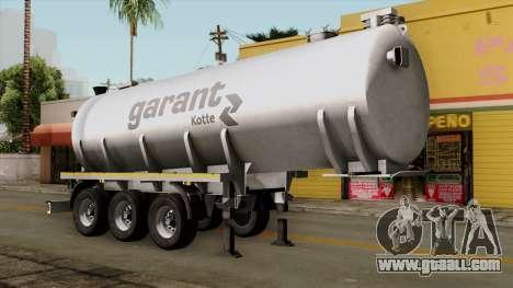 Trailer Kotte Garant for GTA San Andreas