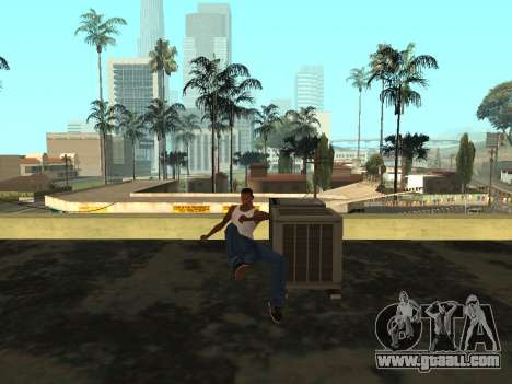 Animation from GTA Vice City for GTA San Andreas sixth screenshot