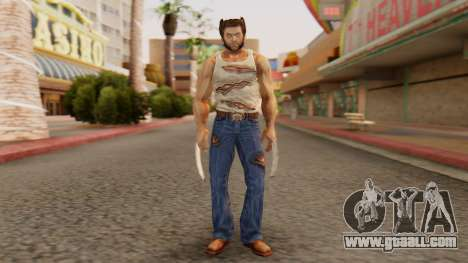 Wolverine v2 for GTA San Andreas second screenshot