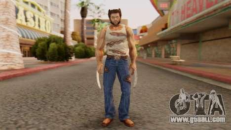 Wolverine v2 for GTA San Andreas second screenshot