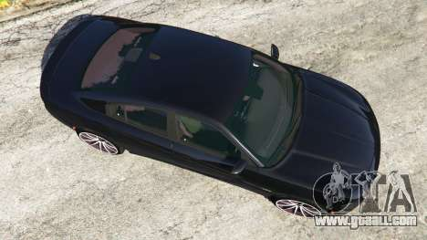 GTA 5 Dodge Charger RT 2015 v0.5 back view