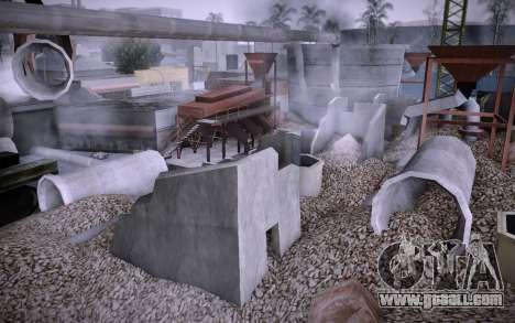 Building on Grove Street v0.1 Beta for GTA San Andreas third screenshot