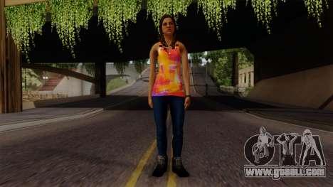 Curly Alara for GTA San Andreas second screenshot