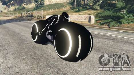 Tron Bike white for GTA 5
