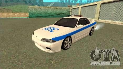Nissan Skyline R32 Russian Police for GTA San Andreas