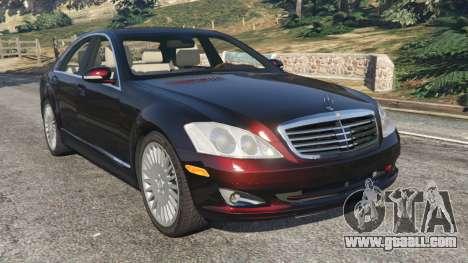 Mercedes-Benz S500 W221 v0.4 [Alpha] for GTA 5