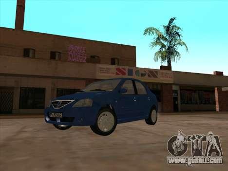 Dacia Logan Prestige for GTA San Andreas left view