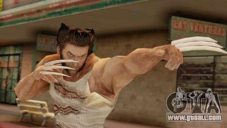 Wolverine v2 for GTA San Andreas