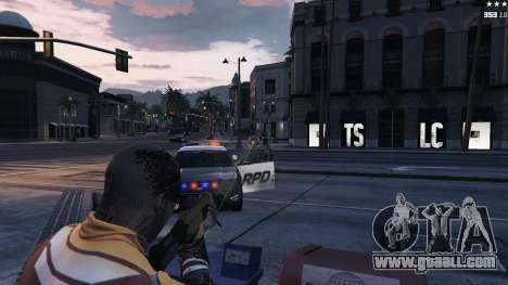 GTA 5 Laser sight fifth screenshot