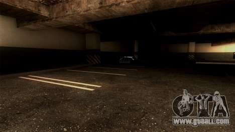 New LSPD Parking for GTA San Andreas forth screenshot