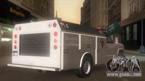 FDSA Fire Van for GTA San Andreas left view