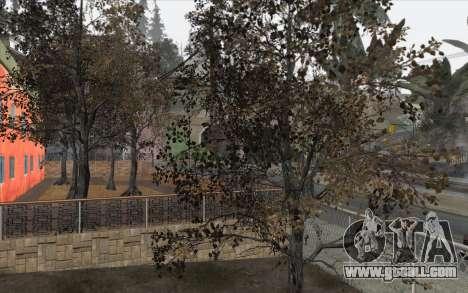 Trees from WarFace for GTA San Andreas third screenshot