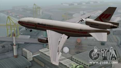 DC-10-30 Martinair for GTA San Andreas left view