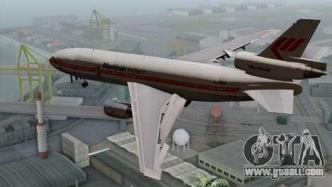 DC-10-30 Martinair for GTA San Andreas left view