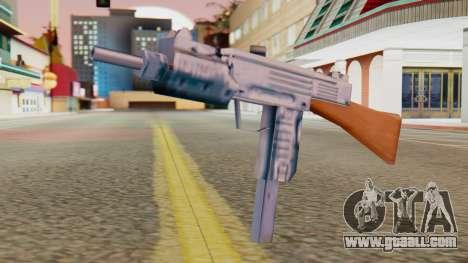 IMI Uzi v2 SA Style for GTA San Andreas