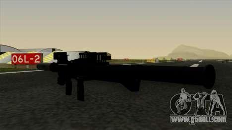 Homing Rocket Launcher for GTA San Andreas third screenshot
