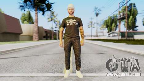 Personalized Skin from GTA Online for GTA San Andreas second screenshot