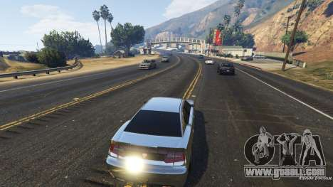 Realistic speed car 1.3 for GTA 5