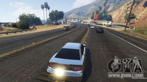 GTA 5 Realistic speed car 1.3 third screenshot