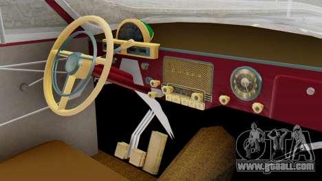 GAZ 21 Volga v2 for GTA San Andreas right view