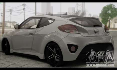 Hyundai Veloster 2012 for GTA San Andreas right view