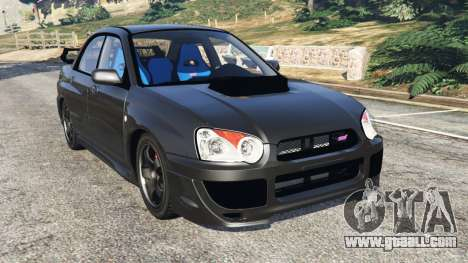 Subaru Impreza WRX STI 2005 for GTA 5