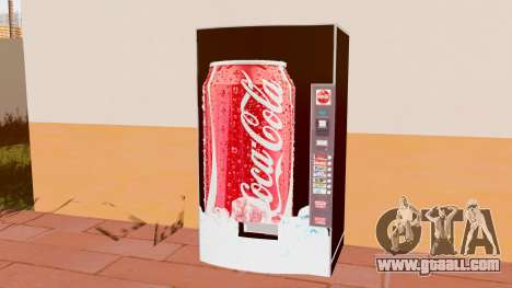 The Coca Cola Machine for GTA San Andreas