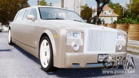Rolls-Royce Phantom LWB for GTA 4 inner view