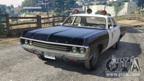 Dodge Polara 1971 Police v3.0 for GTA 5