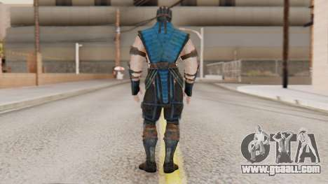 [MKX] Sub-Zero Masked for GTA San Andreas third screenshot