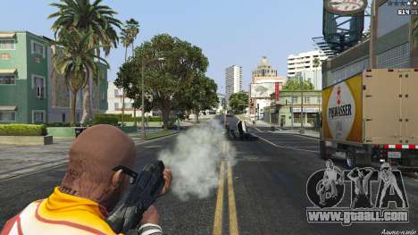 M-8 Avenger из Mass Effect 2 for GTA 5