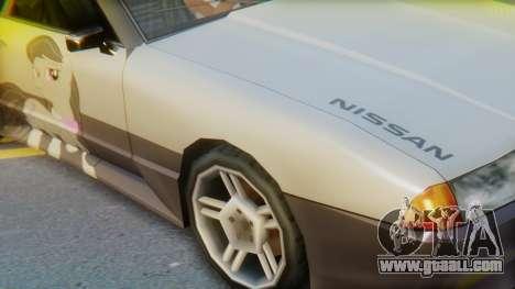 Elegy Octavia Pony Vinyl for GTA San Andreas back left view