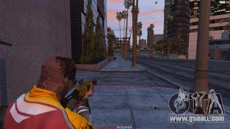 GTA 5 Laser sight