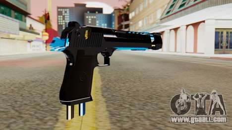 Fulmicotone Desert Eagle for GTA San Andreas second screenshot