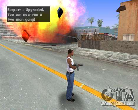 Blood Effects for GTA San Andreas fifth screenshot