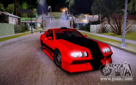 Buffalo GTR for GTA San Andreas right view