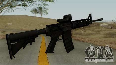 AR-15 Trijicon for GTA San Andreas second screenshot