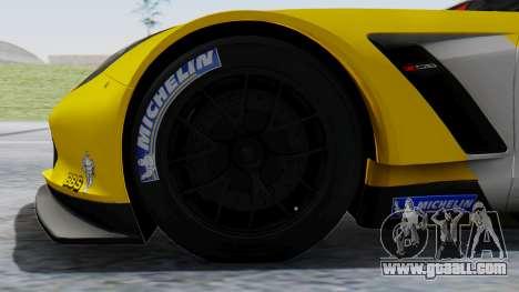 Chevrolet Corvette C7R GTE 2014 PJ1 for GTA San Andreas back left view