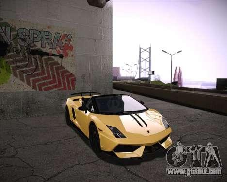 Professional Graphics Mod 1.2 for GTA San Andreas second screenshot