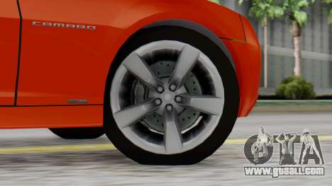 NFS Carbon Chevrolet Camaro IVF for GTA San Andreas back left view