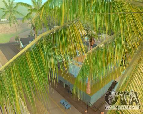 Palm trees from Crysis for GTA San Andreas second screenshot