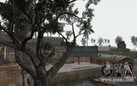 Trees from WarFace for GTA San Andreas sixth screenshot